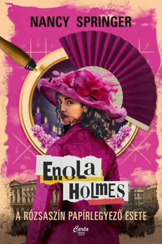 Enola Holmes – A rózsaszín papírlegyező esete